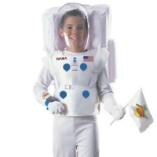 Boys NASA Astronaut Costume Space Man Suit Halloween Role Play Party Outfit