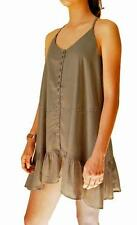 Billabong BONDI DRESS Women's Dress Rrp $60 New - Olive