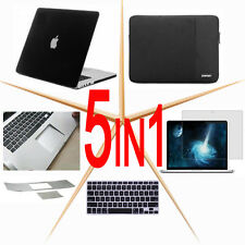 5 in 1 Rubberized Hard Case Soft Keypad Cover to Macbook Pro 13/15 Air/Touch bar