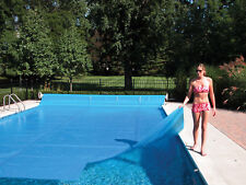 ALL SIZES!! Supreme Swimming Pool Solar Heater Blanket Cover w/ Grommets-12 Mil
