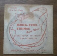"Antique Vintage New Old Stock Gibson Mandolin ""E"" String in Original Package"