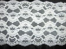"""OFF WHITE LACE 7"""" X 158"""""""