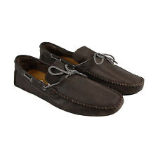 GBX Jeyck Mens Brown Leather Casual Dress Slip On Loafers Shoes