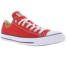 Converse All Star Chuck Taylor Ox Shoes Trainers Red Sale m9696c
