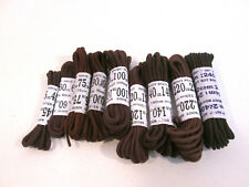 Truka Brown round shoe and boot laces different lengths available