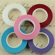 7colors Floral Stem Wrap Artificial Flower Metallic Tape Wire Craft 12mmX45m FA
