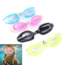 Kids Swimming Goggles Pool Beach Sea Swim Glasses Children Ear Plug Nose Clip EF