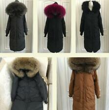 New Variety   Women's 100% Real Fur Down jacket Lady Parka  Winter  Warm Coat