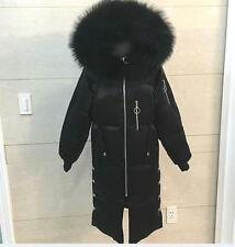 Women's 100% Real Fur Down jacket Lady Parka Coat Winter Comfortable  Jacket