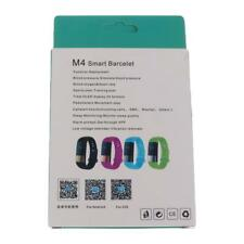 Smart Bracelet M4 Blutooth Wristband with Heart Rate Monitor Fitness Tracker