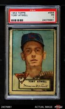 1952 Topps #356 Toby Atwell Cubs PSA 1 - POOR
