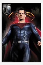 Justice League Superman Solo Poster New - Maxi Size 36 x 24 Inch