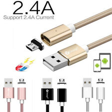 Micro USB Fast Charging Cable 2.4A Magnetic Adapter Charger For Android Samsung