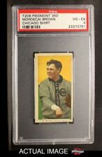 1909 T206 Mordecai Brown Chicago Cubs PSA 4 - VG/EX