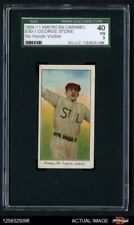 1909 E90-1 American Caramel George Stone  No Hands are Visible Browns SGC 3 - VG