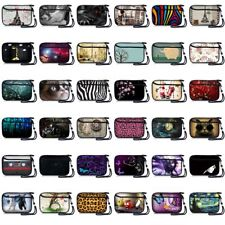 """5""""Stylish Soft Digital Camera Sleeve Bag Mobile Phone Case Pouch Protector+Strap"""