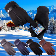 Mens Winter Warm Outdoor Sporty Motorcycle Ski Snow Snowboard Gloves Mittens NEW