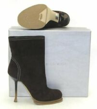 New! Gianmarco Lorenzi Brown Suede Ankle Boots