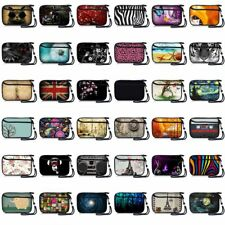 """6"""" Cool Soft Digital Camera Sleeve Bag Mobile Phone Case Pouch Protector+Strap"""