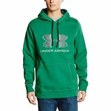 UNDER ARMOUR MENS STORM RIVAL GRAPHIC HOODIE HOODY SIZE M L XL RRP £45