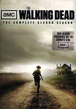 AMC The Walking Dead: The Complete Second Season (DVD, 2012, 4-Disc Set) NEW