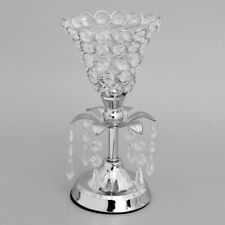Tabletop Flower Vase Rack Crystal Candle Holder Wedding Banquet Centerpiece Deco