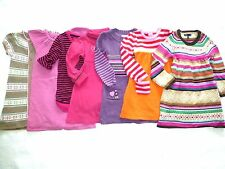 GYMBOREE Girls NORDIC COLOR-BLOCK Striped Knitted TUNIC SWEATER DRESS 3 4 5