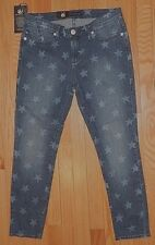 ROCK & REPUBLIC STARLIGHT HAMBURG DENIM CROPPED JEANS/CAPRI sz 0,4 6,8,10 NEW