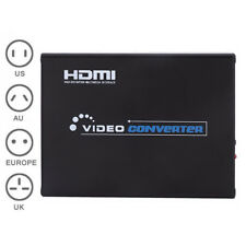 Scales up SCART HDMI to HDTV 1080P Converter S-Video Audio Box Video/YC/RGB NEW