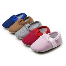 Infant Toddler Shoes Newborn Baby Girl Boy Crib Shoes Soft Sole Shoes Prewalkers