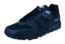 Nike Air Max Command Mens Blackout Sneakers / Retro Casual Shoes - Black