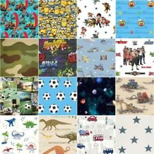 BOYS WALLPAPER BEDROOM DECOR - VEHICLES, SPACE, CAMO, WWE, PAW PATROL & MORE