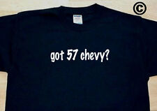 got 57 chevy? BAR MIXED DRINK COCKTAIL FUNNY CUTE T-SHIRT TEE