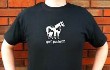 GOT PAINT? PAINTS HORSE HORSES GRAPHIC T-SHIRT TEE FUNNY CUTE