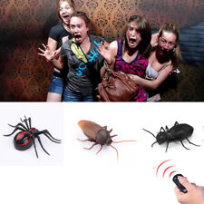 Remote Control Fake Cockroach Ant Spider RC Prank Insects Trick Toys Funny gift