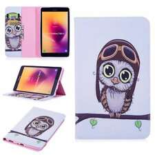 BF Folio PU Leather Case Cover Stand For Apple Samsung AmazonTablets Owl