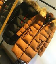 Women's 100% Real Fur Down jacket Lady Parka Coat Winter  Warm Jacket  2 colors