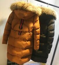 New Winter Women's 100% Real Fur Down jacket Lady Parka Coat   Warm Jacket
