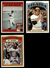1972 Topps 1972 Topps Pittsburgh Pirates Near Team Set Pirates EX/MT