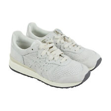 Onitsuka Tiger Tiger Ally Mens Gray Leather Sneakers Lace Up Shoes