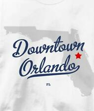 Downtown Orlando, Neighborhood of Orlando, Florida FL T Shirt All Sizes & Colors