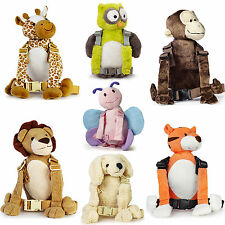 Goldbug 2-IN-1 HARNESS/REINS & BACKPACK ANIMAL BUDDY Toddler Safety Travel - New