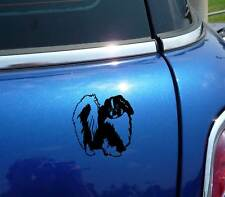 DETAILED PEKINGESE DOG DOGS GRAPHIC DECAL STICKER ART CAR WALL DECOR