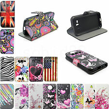 Leather Flip Card Wallet Stand Cover Case For Sony Xperia Z5 Mini C5 Samsung LG