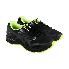Asics Gt 2000 5 Lite Mens Black Mesh Athletic Lace Up Running Shoes