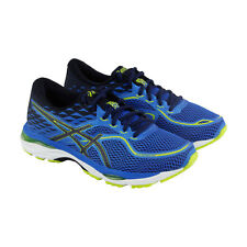 Asics Gel Cumulus 19 Mens Blue Mesh Athletic Lace Up Running Shoes