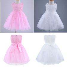 Kids Lace Princess Communion Party Wedding Bridesmaid Pageant Flower Girls Dress