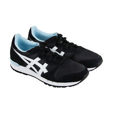 Onitsuka Tiger Alvarado Womens Black Suede Athletic Lace Up Sneakers Shoes 6.5