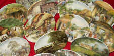 ROYAL DOULTON OLD COUNTRY CRAFTS & WINDOW SHOPPING SERIES PLATES - CHOOSE PLATE