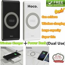 HOCO 10000mAh Qi Power Bank Kit Wireless Fast Charging Charger for phones Lot d